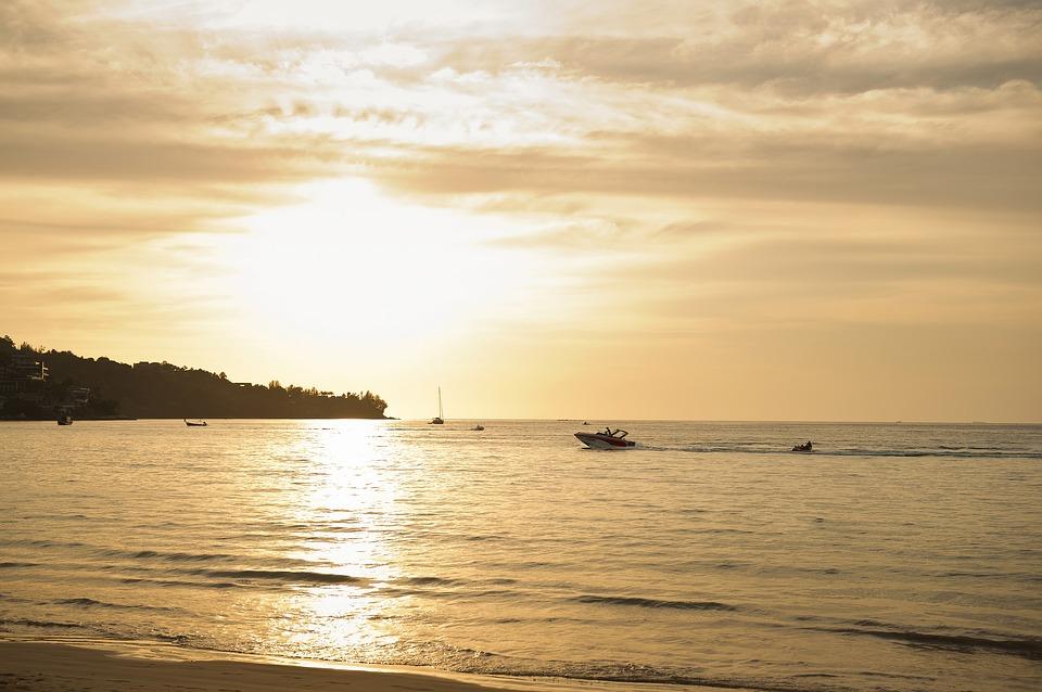 Phuket západ slunce