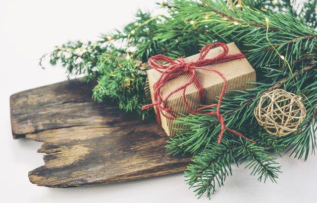 vánoční dárek na prkně