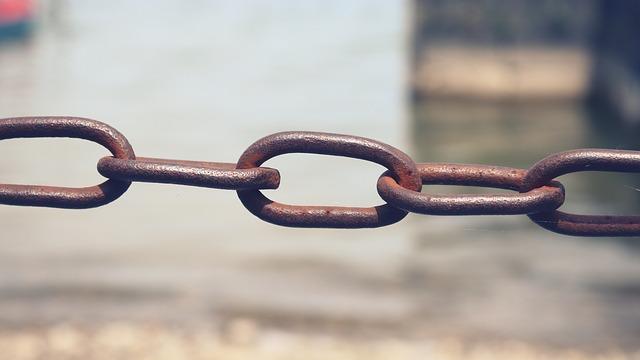 řetěz jako symbolu zpětných odkazů