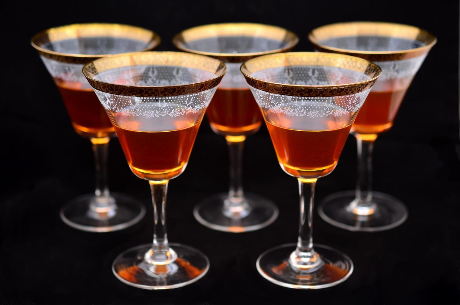 nalité skleničky